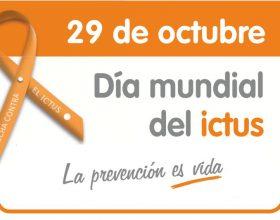 Día Mundial del Ictus 2016, 29 de octubre.